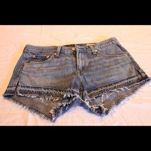 NWOT Rag & Bone denim shorts